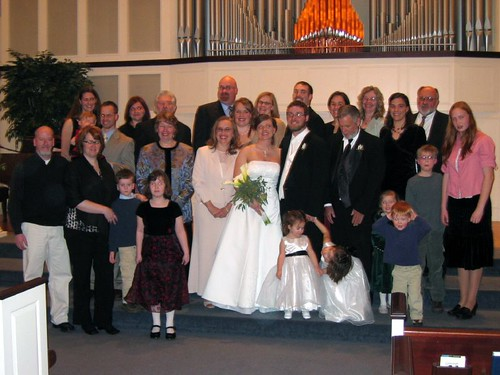 The BIG Family Wedding Picture
