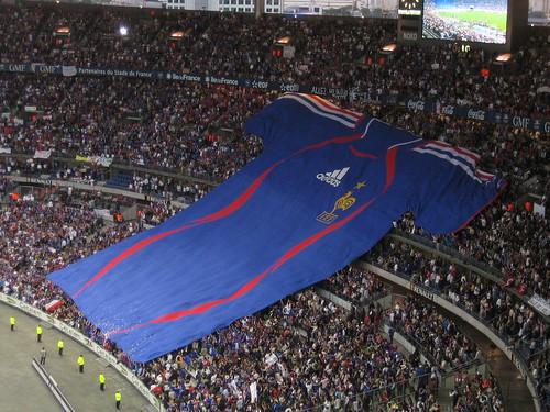 Maillot géant équipe de France