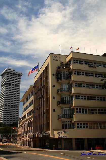 Loke Yew Buidling @ near Petaling Street, KL, Malaysia
