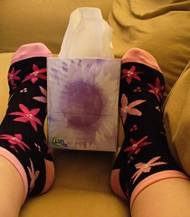 Socks in the Mail!  (Day 4 on the Couch) - by Krista76