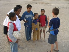 Magic for the kids in Luxor