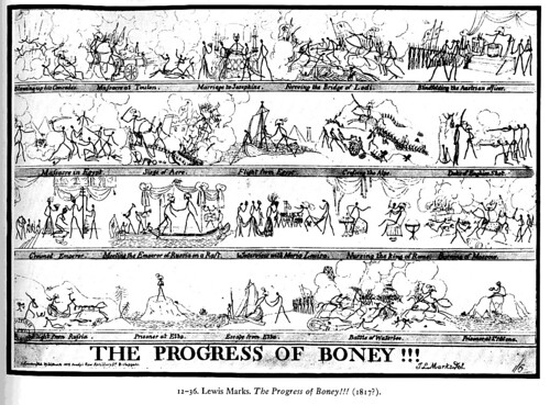 "LEWIS MARKS, ""THE PROGRESS OF BONEY!!!"""