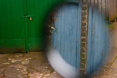 Green door / Blue door