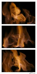 Flame Triptych