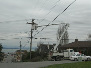 Spring Power Outage