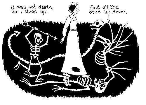 I need full analysis of 'It was not death, for I stood up for by Emily Dickinson'?