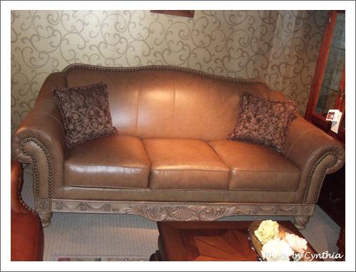 Sarah的皮沙發