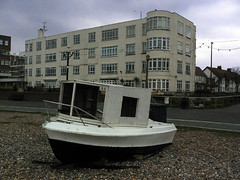 boat (groc) Tags: beach boat worthing clarendoncourt