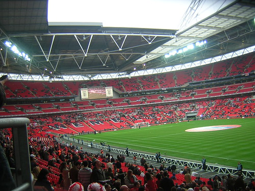Wembley Stadium (before the match)