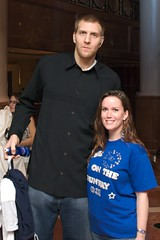 Dirk Nowitzki (Steve and Brooke) Tags: atlanta people georgia unitedstates brooke mavs dallasmavericks