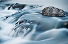 Going Nowhere (oskarpall) Tags: water stone river iceland still slow silk oskar shutter flowing weeklysurvivor sland  vatn steinn skar elliardalur silki abigfave 200750plusfaves hgt rennandi kyrr