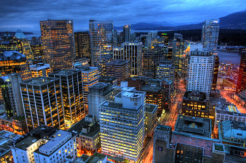 Downtown Vancouver by Duane Storey.