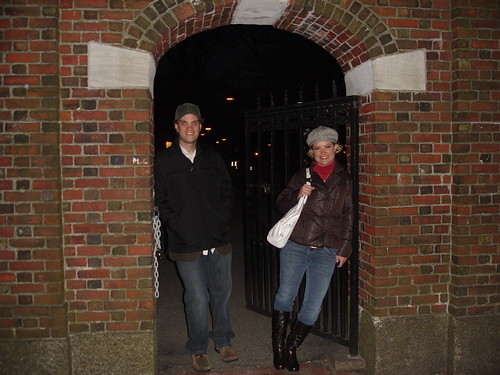 Ryan and Tiff at Harvard