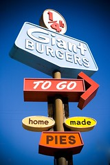 Giant Burgers to Go - by Thomas Hawk