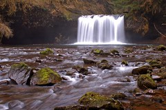 Upper Butte Creek Falls (Dan Sherman) Tags: oregon portland portlandoregon watefall buttecreek oregonwaterfalls upperbuttecreekfalls santiamnationalforest danphotomancom