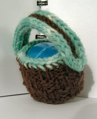 Basket egg-cover