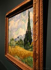 VanGogh Cypresses (MCS@flickr) Tags: van gogh metropolitanmuseumofart artexposed