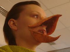 CastIt#10 (Vina the Great) Tags: castit cast prosthetic makeup beak bird