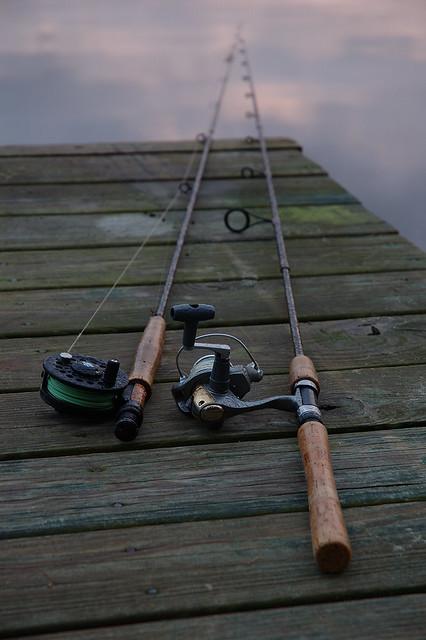 Fishing poles