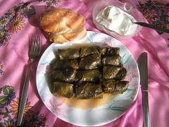 Grape Leaf Rolls (binnur) Tags: food cooking kitchen dinner turkey recipe restaurant baking recipes turkish grapeleafrolls