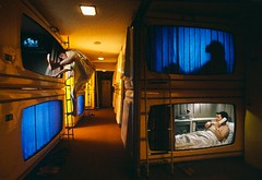 AAMK001327 (crcr2003) Tags: asia asians capsulehotel colorphotography eastasians few ginza hotel hotelguests japan japanese kantoregion lodgings people photography recreation tokyo travel