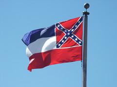 Mississippi State Flag (B  I  R  D) Tags: alabama mississippi civilrights