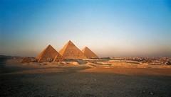 The Giza Pyramids