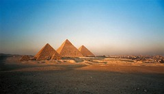 The Giza Pyramids (Bruno Girin) Tags: egypt cairo giza pyramids