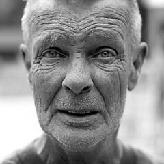 Christian (Mute*) Tags: portrait bw bravo top20portrait streetportrait 500plus20 superfantastique theface sr60 excellenceinportraitandpeople canonef50mmf18ii