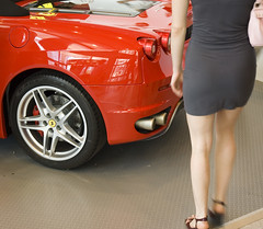 Les Derrires (bbodien) Tags: ferrari f430 spyder rear bottom legs