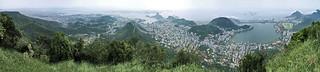Rio de Janeiro, 270° panorama view from Corcovado