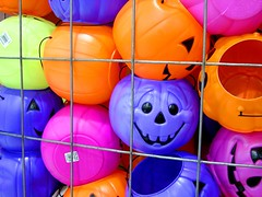 Pumpkins (Kymberlie R. McGuire) Tags: sonycybershotdscp71 sonycybershot catchycolors camera pumpkin halloween plastic geotagged geolat29263779 geolon94831785 galveston childhood wallpaper wallpapers 15fav favorite topv111 fantastic pumpkins bathed