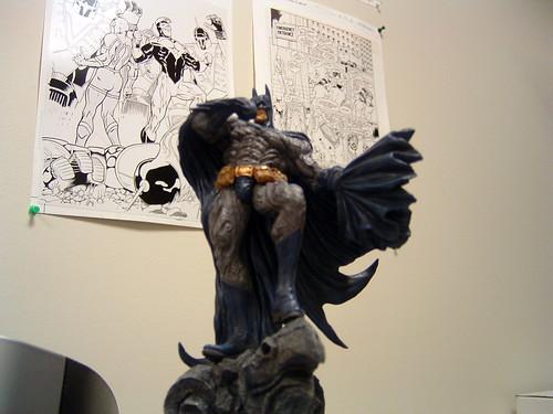 batman statue office work dccomics thong dumpslikeatruck thighslikewhat comicbooks comics collectibles japanese