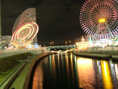 Illumination in Yokohama
