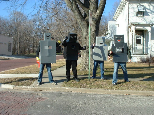 Robot Attack! by Dan Coulter, on Flickr