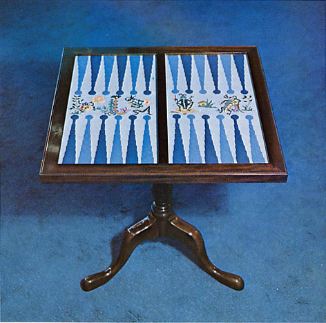Roseys Backgammon Board