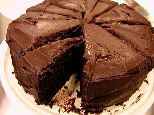 Пирог шоколадный домашний