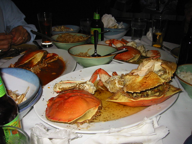 Vietnamese Crab in S.F.