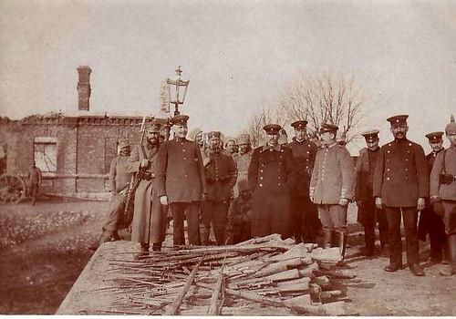 Vilkaviskis - piled guns 1914/15