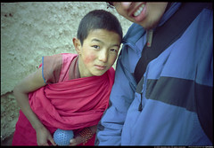 a little Buddhist monk and me. II (daviddu*) Tags: