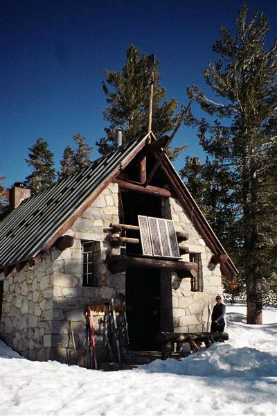 Ostrander Lake Hut