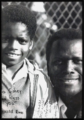 Mr. Poitier and I (Shavar Ross) Tags: people urban blackandwhite bw man black celebrity history portraits photo ross actors photos african famous picture headshot historic american hollywood archives africanamerican famouspeople oldphoto actor historical celebrities blackman shavarcom sidney blackmen sidneypoitier poitier shavar shavarross celebrityphotos entertainmer shavarrosscom