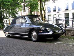 Nice set of wheels! (Blauw Oog) Tags: utrecht holland netherlands summer zomer car auto oldtimer citroen citroën ds convertible