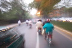 on the bike... on mall road... lahore (piggsee) Tags: lahore friends ark abdul rehman khawar atif amjad asad mall road pakistan fakhar