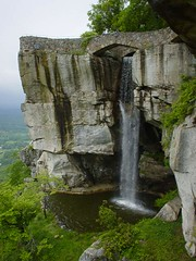 High Falls (Rock City, Lookout Mt GA) (pikespice) Tags: mountain chattanooga georgia geotagged tennessee lookout waterfalls geotag lookoutmountain rockcity highfalls 10millionphotos mothernatureatherbest