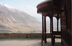 Baltit Fort overlooking the Hunza Valley