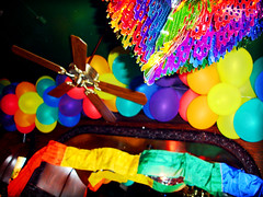 Colors of the Rainbow (Kymberlie R. McGuire) Tags: gay gaypride pride prideparade 2005prideparade 2005houstongayprideparade sonycybershot houston love topv111 cybershotdscp200 camera color colors catchycolors 15fav bathed