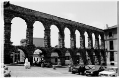 Segovia (visioncity) Tags: wedding bw stone fun cool spain ancient roman segovia aquaduct mgw iberalucia wasniowski visioncity
