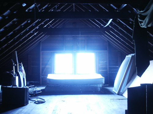 Attic cc by kevtori