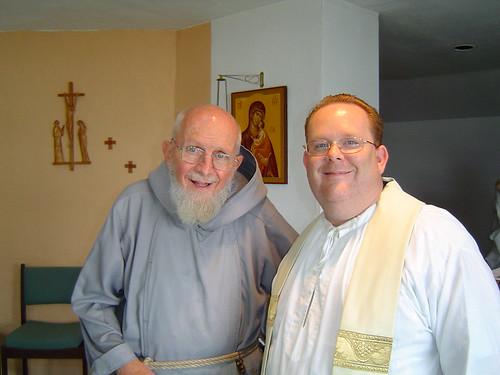 Frs. Benedict Groeschel & J.C. Maximilian by frjcmaximilian.